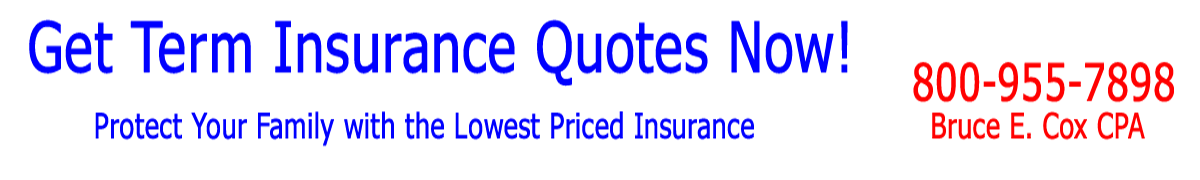 Get Term Insurance Quotes Now!