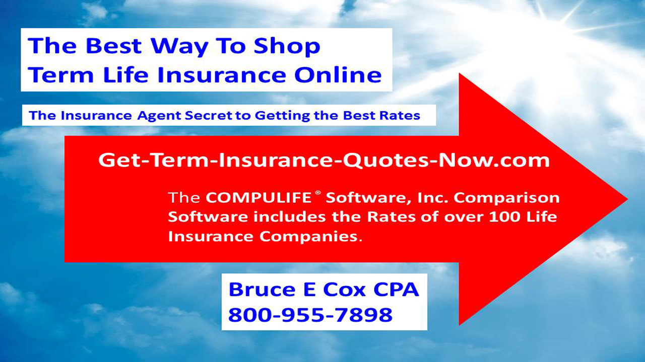 The Best Way to Shop Term Life Insurance Online